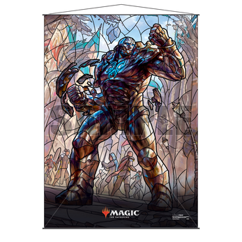 Ultra Pro Stained Glass Wall Scroll MTG Karn