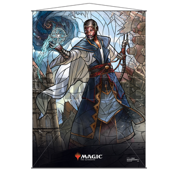 Ultra Pro Stained Glass Wall Scroll MTG Teferi