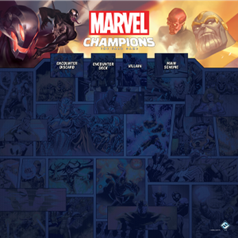 Marvel LCG - Gamemat - 1-4 Player