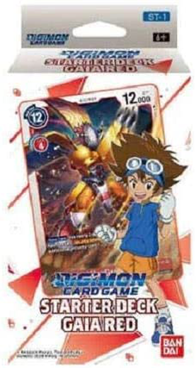Digimon Card Game - Starter Deck / Gaia Red ST-1