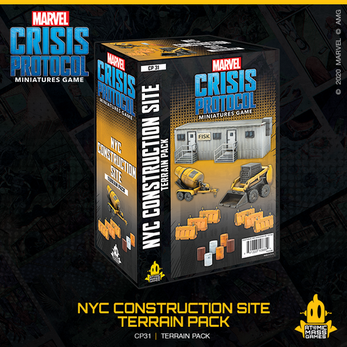 Marvel: Crisis Protocol - NYC Construction Site Terrain