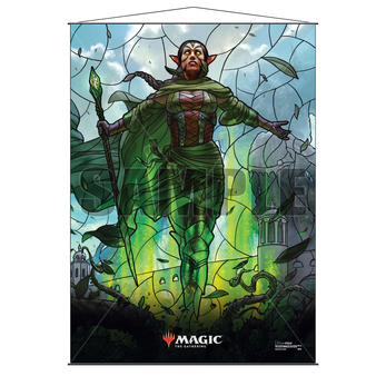 Ultra Pro Stained Glass Wall Scroll MTG Nissa