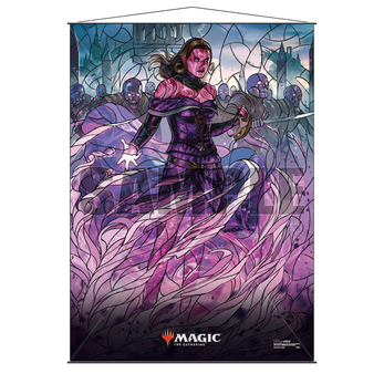 Ultra Pro Stained Glass Wall Scroll MTG Liliana