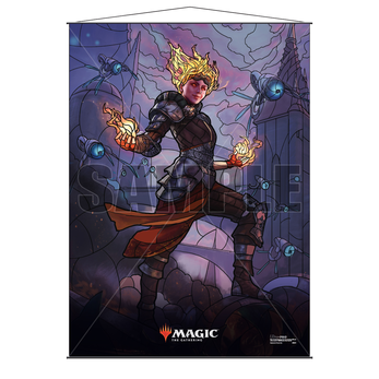 Ultra Pro Stained Glass Wall Scroll MTG Chandra