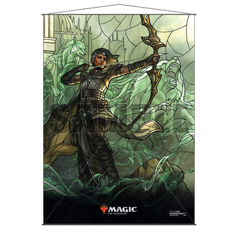 Ultra Pro Stained Glass Wall Scroll MTG Vivien