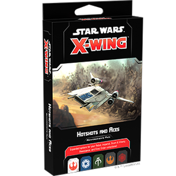 Star Wars X-Wing 2nd Ed Hotshots Aces Reinforcment Pack