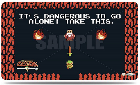 The Legend of Zelda: Dangerous Playmat with Playmat Tube