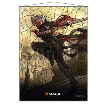 Ultra Pro Stained Glass Wall Scroll MTG Sorin