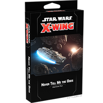 Star Wars X-Wing 2nd Ed Never Tell Me the Odds Obstacles Pack