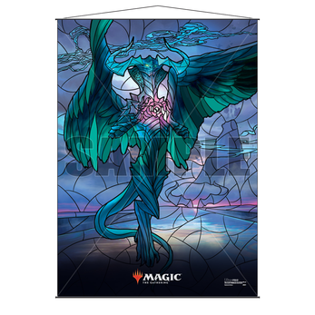 Ultra Pro Stained Glass Wall Scroll MTG Ugin