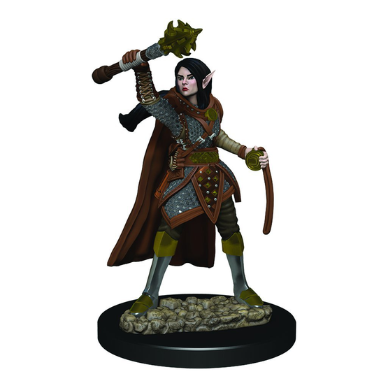 D&D Icons of the Realms Premium Figures: Female Elf Cleric