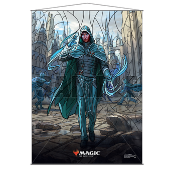 Ultra Pro Stained Glass Wall Scroll MTG Jace