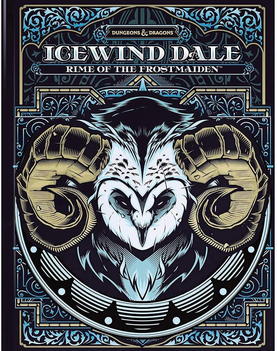 D&D Icewind Dale: Rime of the Frostmaiden Limited Edition Alternate Cover