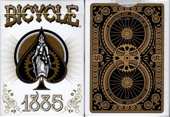 Bicycle Playing Cards / 1885