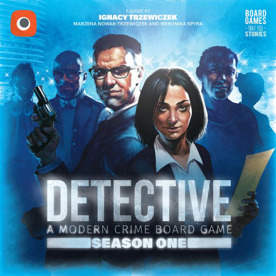 Detective: A Modern Crime Board Game - Season One