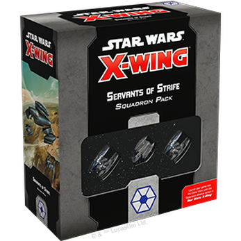 Star Wars X-Wing 2nd Ed Servants of Strife Squadron (Separatists)