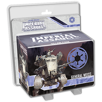 Imperial Assault Ally and Villain Packs / General Weiss
